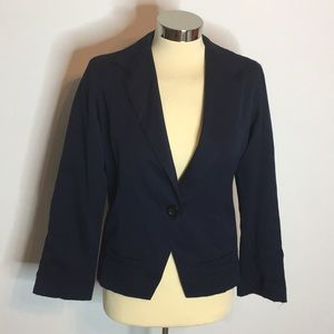 Rails single button blazer